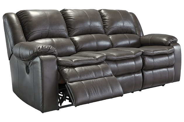 Gray Long Knight Reclining Sofa View 3  sc 1 st  Ashley Furniture HomeStore & Long Knight Reclining Sofa | Ashley Furniture HomeStore islam-shia.org