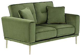 Macleary Loveseat, Moss, large