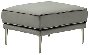 Macleary Ottoman, Steel, large