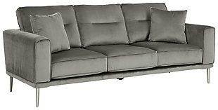 Macleary Sofa, Steel, large