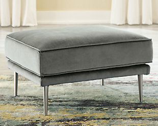 Macleary Ottoman, Steel, rollover