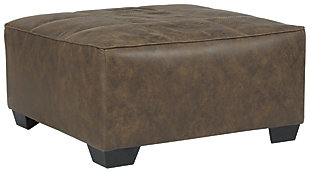 Abalone Oversized Accent Ottoman, , large