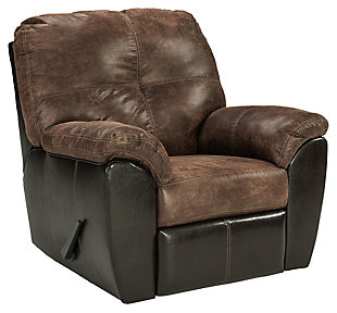 Gregale Recliner, Coffee, large