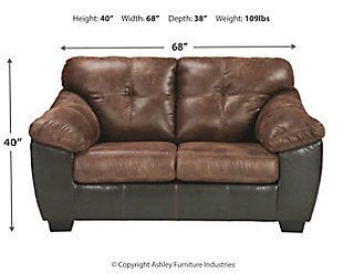 Gregale Sofa and Loveseat, Coffee, large