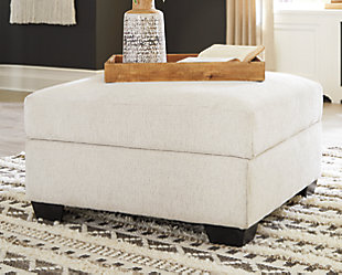 Cambri Ottoman With Storage, , rollover