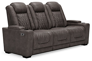 HyllMont Power Reclining Sofa, , large