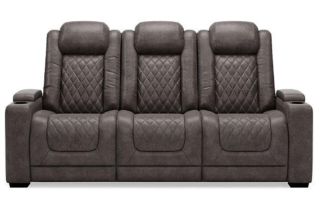 HyllMont Power Reclining Sofa, , large