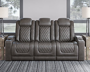 HyllMont Power Reclining Sofa, , rollover