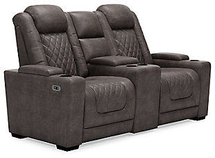 HyllMont Power Reclining Loveseat with Console, , large