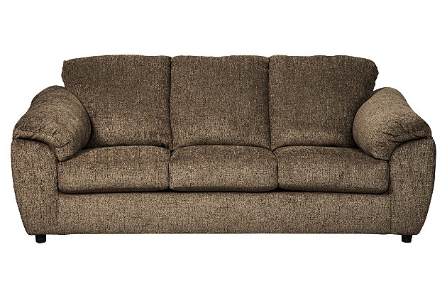 Azaline Full Sofa Sleeper, Umber, large