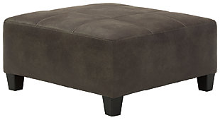 Navi Oversized Accent Ottoman, , large