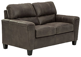 Navi Loveseat, Smoke, large