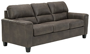 Navi Queen Sofa Sleeper, Smoke, large