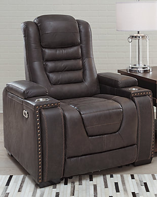 Cave Warrior Power Recliner, , rollover