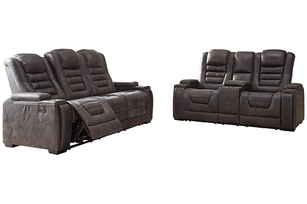 Cave Warrior Sofa and Loveseat, , large