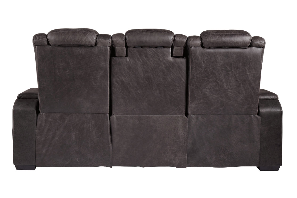 Sensational Cave Warrior Power Reclining Sofa Ashley Furniture Homestore Ncnpc Chair Design For Home Ncnpcorg