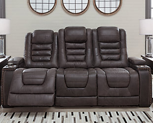 Cave Warrior Power Reclining Sofa, , rollover