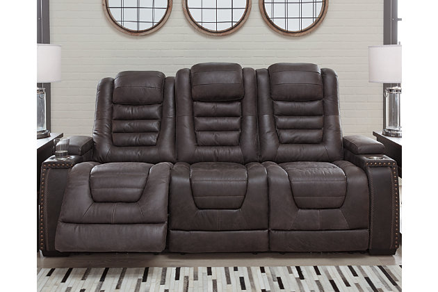 Cave Warrior Power Reclining Sofa, , large