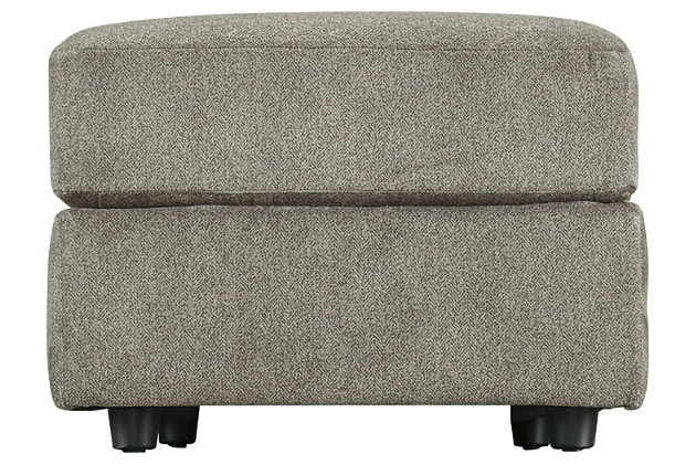 Soletren Oversized Ottoman, Ash, large