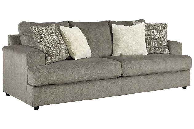 Soletren Sofa and Loveseat, Ash, large