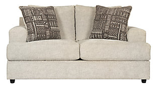 Soletren Loveseat, Stone, large
