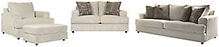 Soletren Sofa, Loveseat, Chair and Ottoman, , large