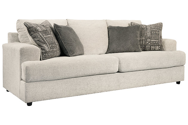 Soletren Queen Sofa Sleeper, Stone, large