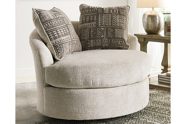 Soletren Accent Chair, Stone, large