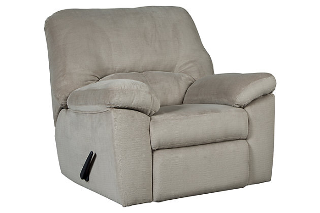 Dailey Recliner, Alloy, large