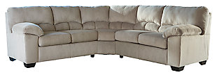 Dailey 2-Piece Sectional, Alloy, large