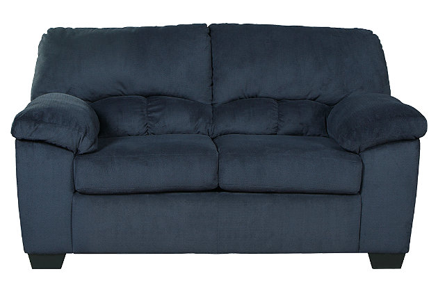 Dailey Loveseat, Midnight, large