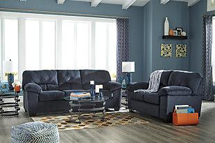 Dailey Full Sofa Sleeper, Midnight, large