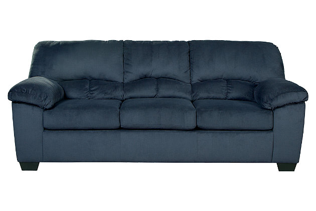 Dailey Sofa, Midnight, large