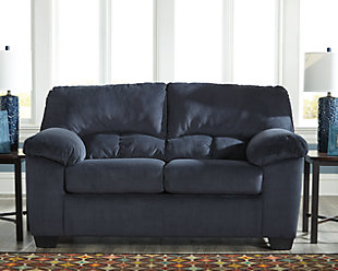 Dailey Loveseat, Midnight, rollover