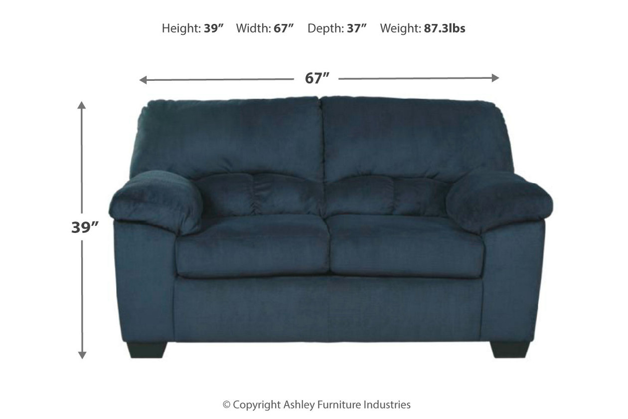 Dailey Loveseat | Ashley Furniture HomeStore