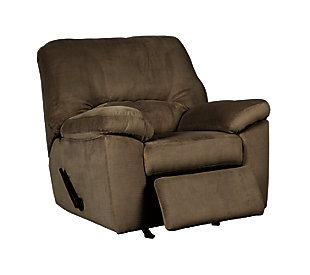 Dailey Recliner, Chocolate, large