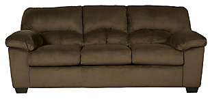 Dailey Sofa, Chocolate, large