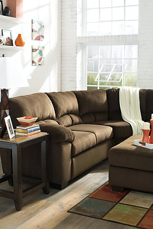 Dailey 2-Piece Sectional, Chocolate, large