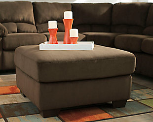 Dailey Oversized Ottoman, , large