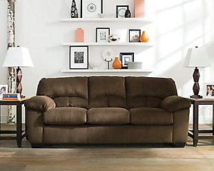 Dailey Sofa, Chocolate, rollover