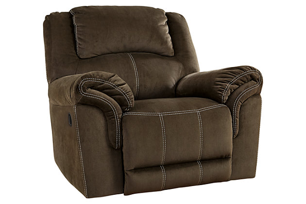 Brown Quinnlyn Power Recliner by Ashley HomeStore