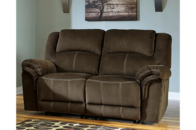 home quinnlyn reclining loveseat living room decorating idea with this furniture