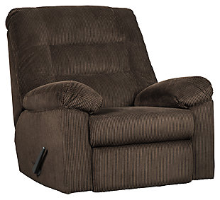 Gosnell Recliner, Chocolate, large