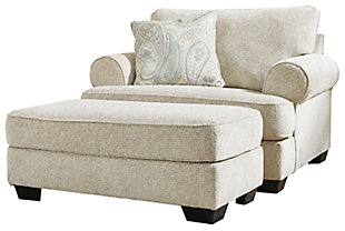 Monaghan Chair and Ottoman, , large