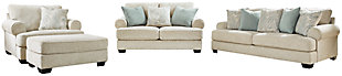 Monaghan Sofa, Loveseat, Chair and Ottoman, , large