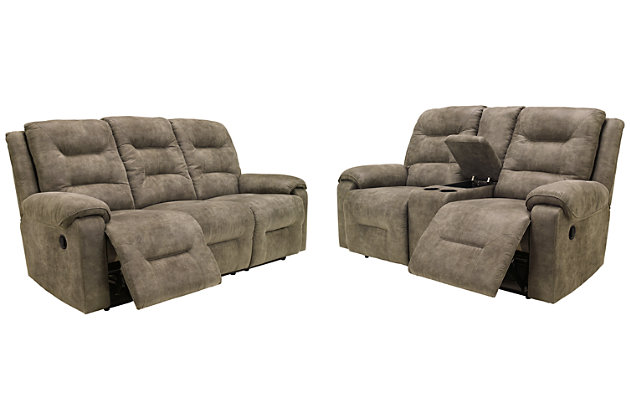 Rotation Sofa and Loveseat, , large
