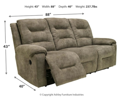 Picture of: Rotation Reclining Sofa Ashley Furniture Homestore