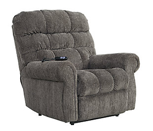 Ernestine Power Lift Recliner, Slate, large