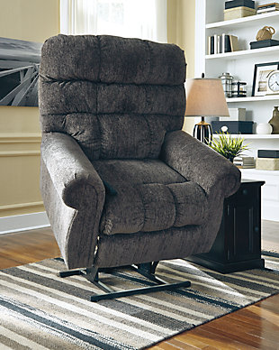 Ernestine Power Lift Recliner, Slate, rollover