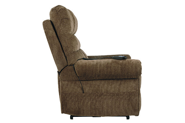 Ernestine Power Lift Recliner, Truffle, large